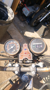 Honda 2matic gauges