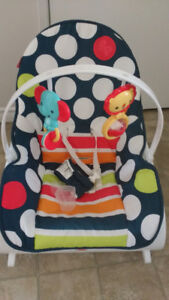 Vibrating baby chairs.