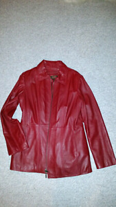 Manteau de cuir DANIER..DANIER leather jacket