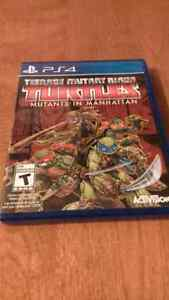 Tmnt mutans in manhattan playstation 4 neuf