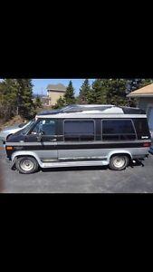 1989 Chevrolet camper van
