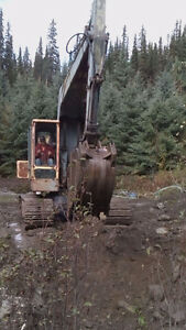 Reduced - Older excavator for sale