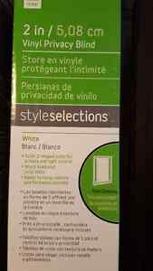 2' vinyl privacy blinds- New never used, Kitchener / Waterloo Kitchener Area image 2