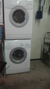 Whirlpool  24 inch apt size washer and dryer for sale