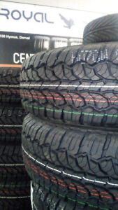 NEW TIRES LT225/75/16 - 499$ txin 4tires **2150 Hymus, Dorval **