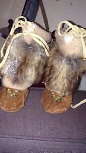 Real baby moccasins