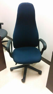 OBUSFORME EXECUTIVE OFFICE CHAIR - BLUE- New Lower Price!