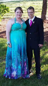 Prom dress for sale (size 20)