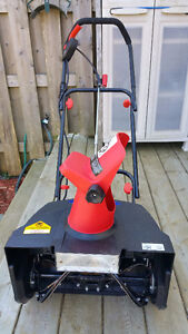 Snow Joe Max Electric Snow Thrower with light..... $90 OBO