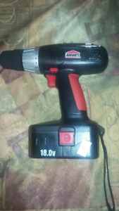 Perceuse rechargeable 18.0 V