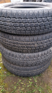 WINTER TIRES VERY GOOD CONDITION.