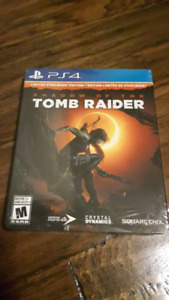 Shadow of the Tomb Raider Limited Steelbook PS4