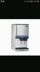 Follet water and ice machine dispenser