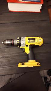 Dewalt 18 volt cordless drills.