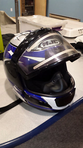 HJC helmet with electric shield