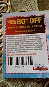 le Rondes 80% off ticket
