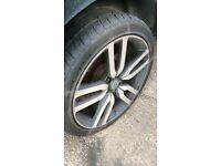22'' Landmark Range Rover wheels with tyres