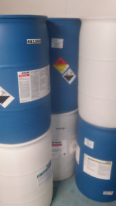 Poly 45 gallon Barrels