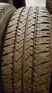 4 - 205 70 15 Firestone FR710 M+S $100 for the set.