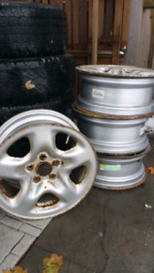 5 x 114 16r  Toyota winter rims