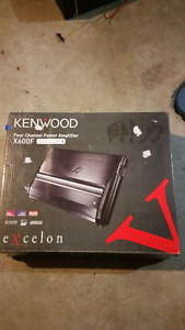 Kenwood excelon x600f 4 channel car amplifier