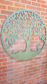 Garden wall art