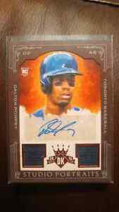 Dalton Pompey Autographed Rookie Card Kitchener / Waterloo Kitchener Area image 1