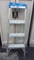 4 Foot Ladder Aluminium