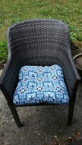 Patio Chair Cushions - set of 6