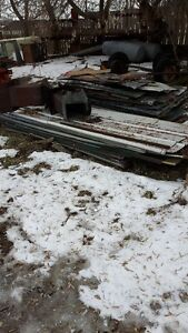 used roofing / siding sheet metal