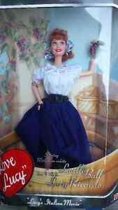 COLLECTIBLE BARBIE - Lucille Ball as Lucy Ricardo.