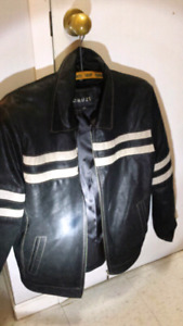 Leather Motorcycle Jacket Brand New