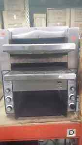 Used toaster oven double conveyor only $1000