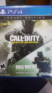 Ps4 infinite warfare and cod remastered