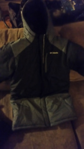 Boys Columbia coat sz lg