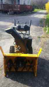 Barely used Cub Cadet snowblower