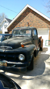 1951 Ford half ton. Drives and stops!