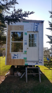 Tiny house on wheels on 2 acres lot