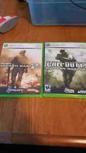 Call of duty Modern warfare 1 and 2
