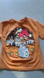 ANGRY BIRDS TRICK OR TREAT T-SHIRT SIZE 5