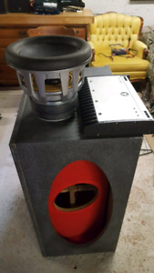 """10""""JL W7 With competition JL amp and competition sub box"""