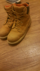 Timberland steel toed boots