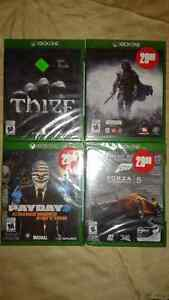 BRAND NEW XBOX ONE GAMES