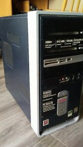 AMD 3500+/1GB Ram/160GB HD/Win 7 Pro