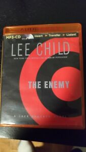 THE ENEMY - Lee Child, a Jack Reacher novel - MP3-CD
