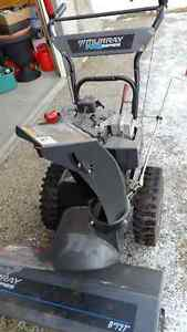 "8 HP 27"" Electric Start Snow Blower"