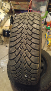 Goodyear winter nortic tires and rims