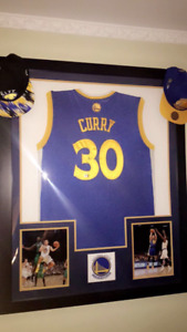 Stephen Curry Jersey | Signed & Framed
