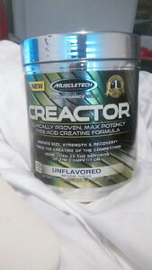 Brand new unopened Muscletech Creactor Créatine