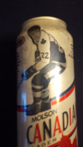 Rare Molson Canadian Collectible Tall Boy Beer Cans ( Leafs)